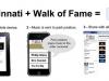 Cincy Walk Of Fame Mobiles