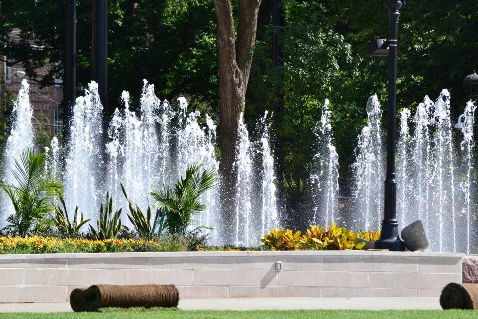 Washington Park Fountain Beauty